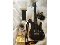 Electric Guitar. Limited edition Ibanez SA360EX and Amp