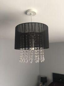 Black lampshade