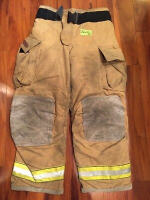 Firefighter Turnout Bunker Pants Globe 38x32 G Extreme Halloween Costume 2005
