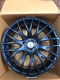 19 inch Matt black alloy wheels
