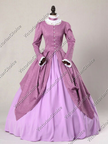 Victorian Nutcracker Fairytale Princess Ball Gown Fancy Theatrical Dress 156
