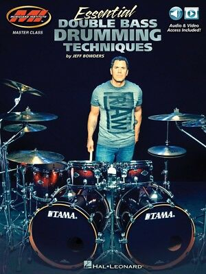 Essential Double Bass Drumming Techniques Master Class Series Book + 000217738