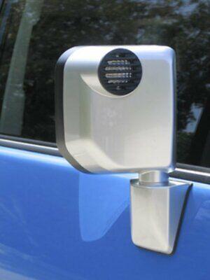 2007-14 Toyota FJ Cruiser Black Billet Marker Light Guards