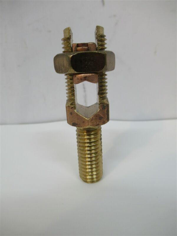 "Burndy K2C25B1, 2 - 1/0 STR or 2 - 2/0 Solid, 1-1/16"" Post, Servit Post"