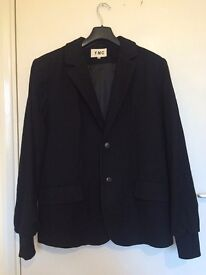 YMC Mens Black Blazer Jacket Medium