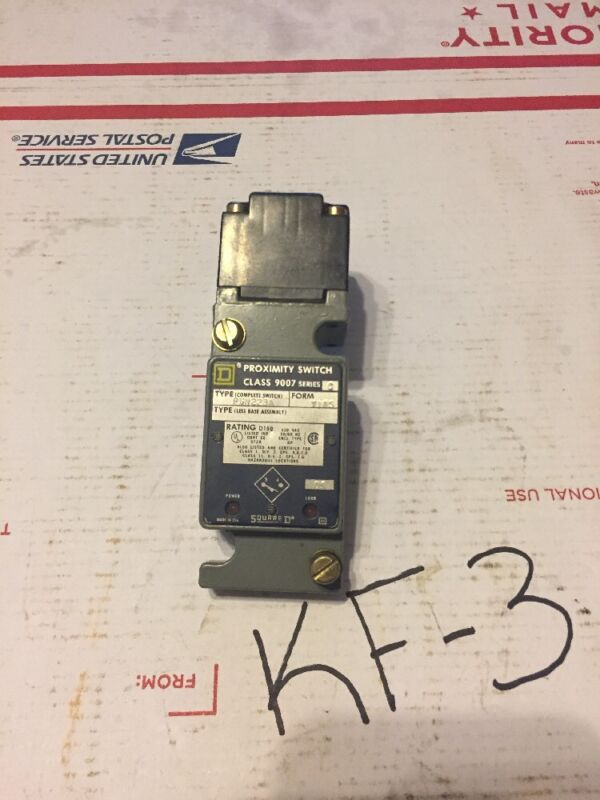 SQUARE D 9007-PSN223A PROIMITY SENSOR LIMIT SWITCH