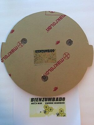 Vacuum Chamber Lid With No Attachments 13 Diameter Polycarbonate