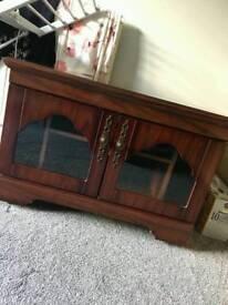 Mahogany TV stand