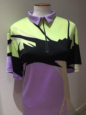 NWT JAMIE SADOCK Aphrodite Short Sleeve Golf Shirt Top, Size XL