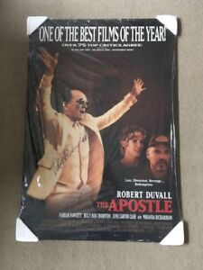 """Autographed """"Apostle"""" Wood-Mounted Movie Poster"""