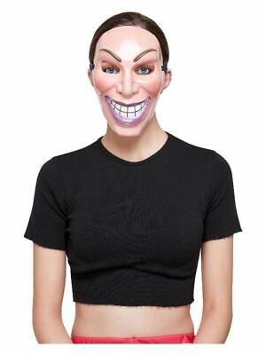 Smiler Maske, Weiblich Halloween - Weiblich Halloween Masken