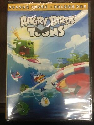 Angry Birds Toons - Season 03, Volume 01 [DVD, NEW] FREE SHIPPING