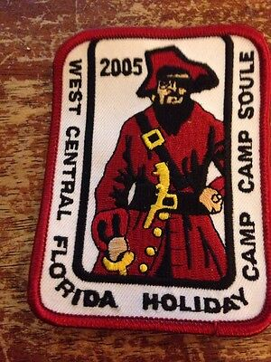West Central Florida Council 2005 Holiday Camp Pirate BSA Boy Scouts Q-187 - Holiday Boys Weste
