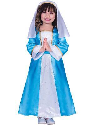 Virgin Mary Costume Nativity Play Christmas Childrens Girls - Mary Nativity Play Costume