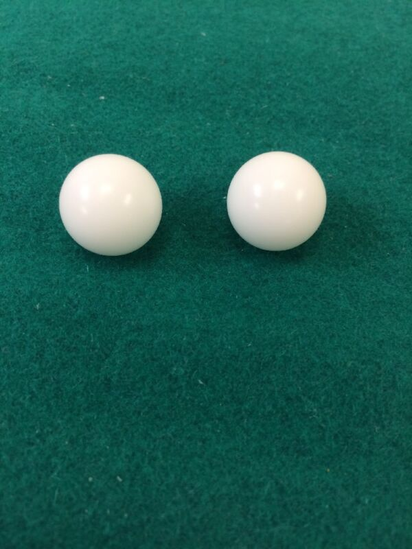 (Two) 5/8 Inch Casino Grade Roulette Ball (Pill) - Item 20-1058x2