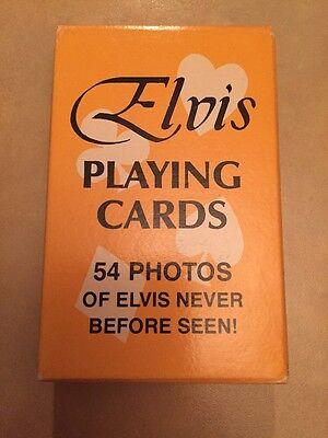 Original Vintage 1977 Elvis Playing Cards 54 Photos