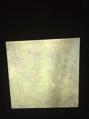 """Jasper Johns """"Green Target""""35mm Color Slide. Pop Art Neo-dadaist"""