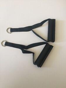NEW PAIR - Bowflex Home Gym Handles Hand Grips Handgrips 5 Way Ankle Cuff