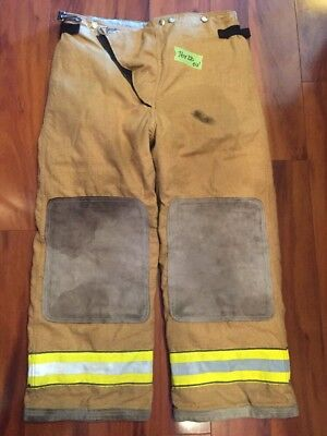 Firefighter Turnout Bunker Pants Globe 36x28 Halloween Costume 2003