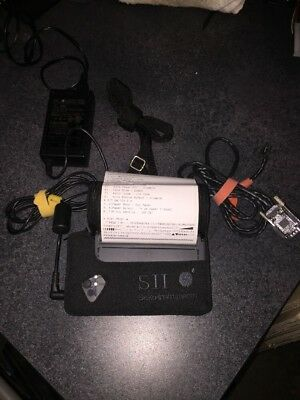 LOT 10x SII Seiko DPU-3445-20A Mobile Serial Thermal Receipt Printer Battery