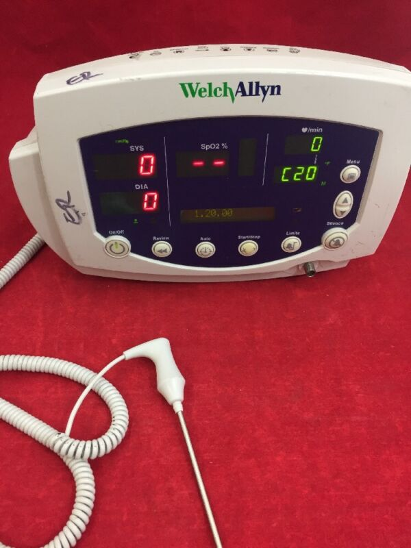 Welch Allyn 53nt0 007-0104-01 Vital Signs Patient Monitor See Listing