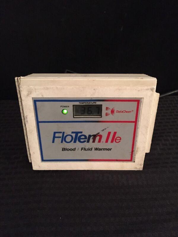 DATACHEM FloTem IIe Blood/Fluid Warmer Type 5 See Description For Condition