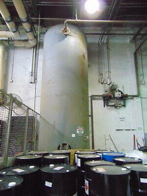 3800 Gallon Vertical Air Tankreceiver 6 Dia. X 19-3 Tall 150 Psi 450f