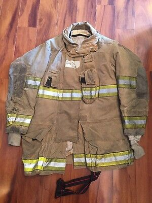 Firefighter Globe Turnout Bunker Coat 44x35 G-xtreme Halloween Costume