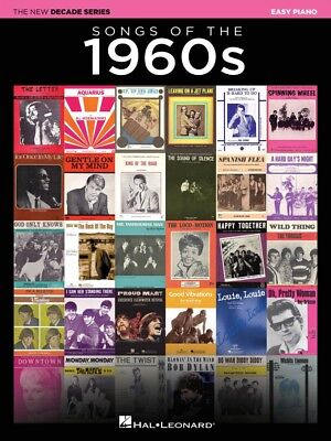 Songs of the 1960s Sheet Music The New Decade Series Easy Piano Book 000282478