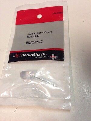 Jumbo Super-bright Red Led 276-0086 By Radioshack