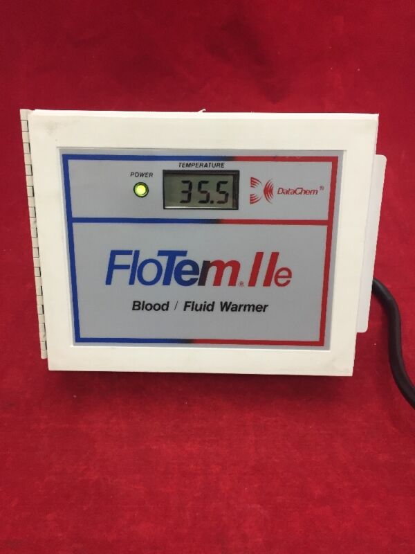 DATACHEM FloTem IIe Blood Fluid Warmer See Listing