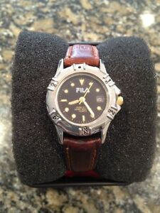 Women's FILA Inspired Watch with Leather Strap Kingston Kingston Area image 1