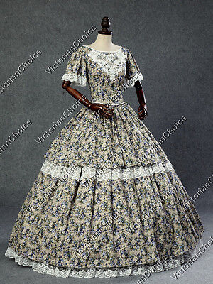 Victorian Southern Belle Old West Dress Pioneer Women Theatrical Clothing 168 - Victorians Costumes