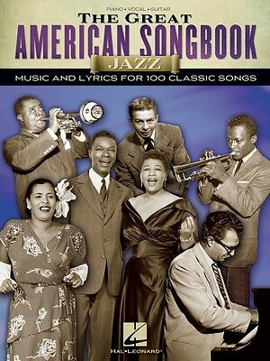 The Great American Songbook Jazz Sheet Music Piano Vocal Guitar Book 000110387