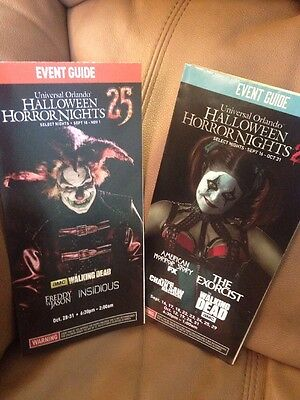 25 & 26 Halloween Horror Nights  Event  Map CHANCE AND JACK HHN - Halloween Horror Nights Event Map