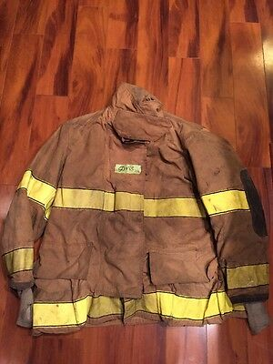 Firefighter Globe Turnout Bunker Coat 50x35 Halloween Costume
