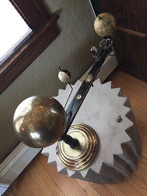 1900's Original Trippensee Planetarium/Globe Antique Vintage Orrery REPAIR!