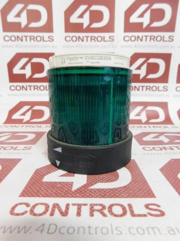 Telemecanique XVBC2B3DB Green Steady Unit Light - Used