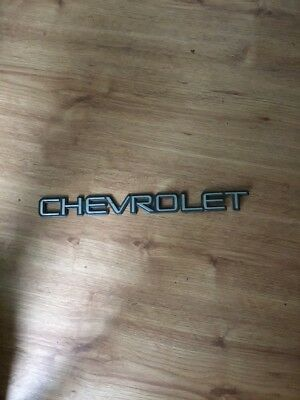 Chevrolet Silverado Rear Tail Gate OEM Emblem Badge Symbol