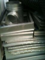 Sheet metal for plumbing