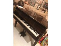 Baby grand piano chappell