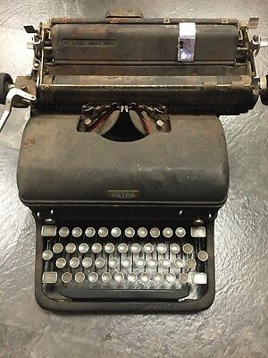 Royal Mm Typewriter Black Selling As Is. Potentially Used In Military