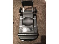 Silver cross black car seat with isofix