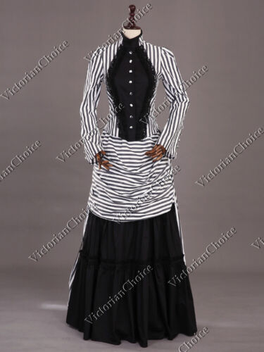 Victorian Steampunk Mary Poppins Bustle Dress Gown Theater Quality Comic Con 139