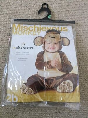EUC Monkey Costume For Girl Or Boy 12-18 Months  (Monkey Costumes For Girls)