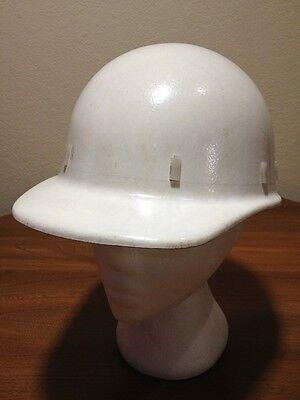 Vintage Apex Safety Products Front Brim Hard Hat Liner Fiberglass White