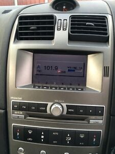 FORD BA/BF XR6 XR8 ICC 6/CD RADIO WITH MONOCHROME SCREEN