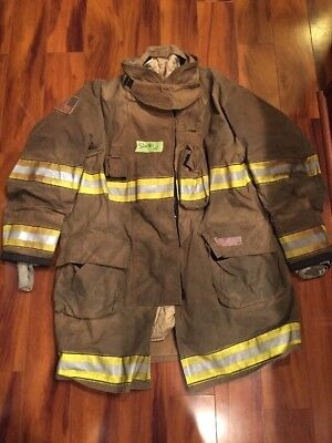 Firefighter Globe Turnout Bunker Coat 52x40 G-xtreme Halloween Costume 2015
