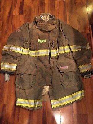Firefighter Globe Turnout Bunker Coat 52x40 G-xtreme Halloween Costume 2015