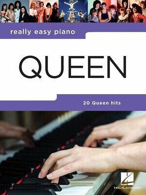Queen Really Easy Piano Sheet Music Really Easy Piano Book NEW 000291022